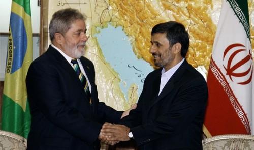 Brasil lula irã Ahmadinejad