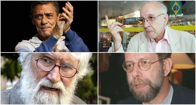artistas intelectuais manifesto pro Dilma