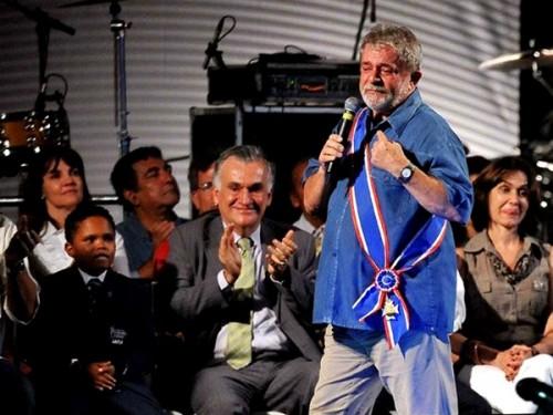 lula presidente emoção povo pobre alegria