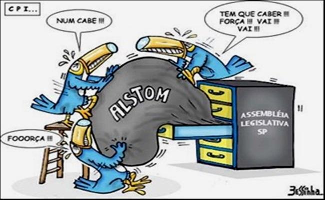 rede globo corrupção psdb alstom