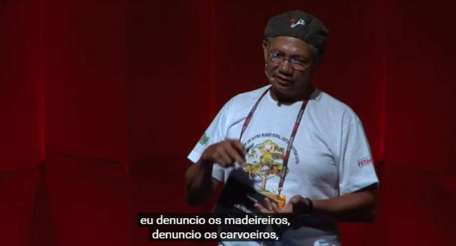 palestra valiosa zé Cláudio ribeiro extrativista