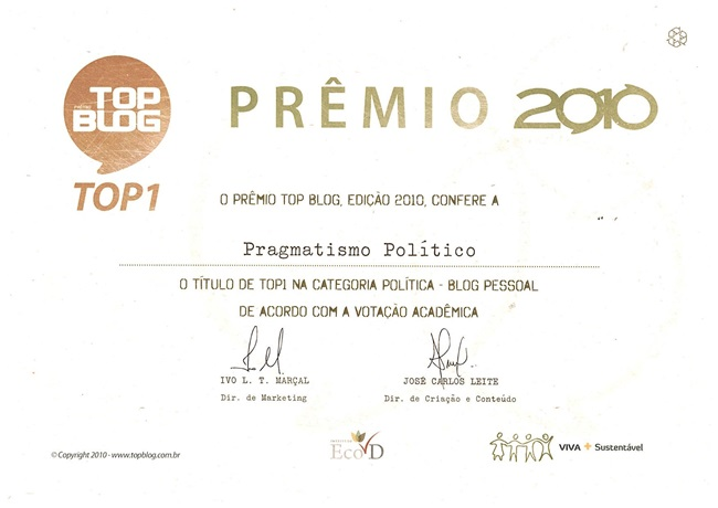 top-blog-2010-pragmatismo-politico
