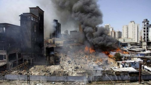 Incêndio Moinho Favela