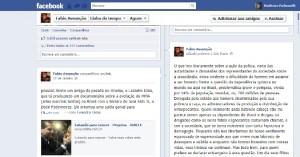 Facebook Fábio Assunção