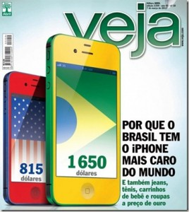 Revista Veja Mais cara Mundo