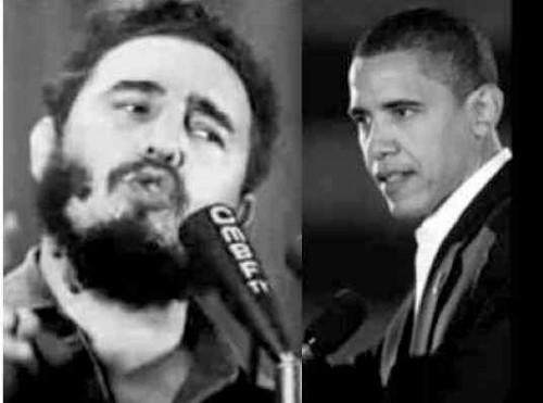 Fidel Castro Barack Obama