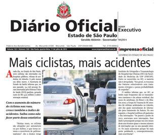 ciclistas diário oficial