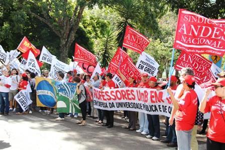 greves federais professores