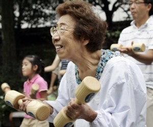 mulheres japonesas mais longevas