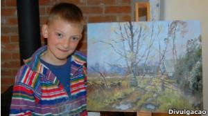 pintor 9 anos
