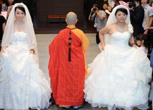 casamento gay budista