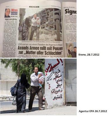 syria foto falsificada