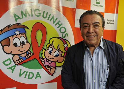Maurício de Sousa lança primeiro gibi da Turma da Mônica com personagens soropositivos. Foto: ABr