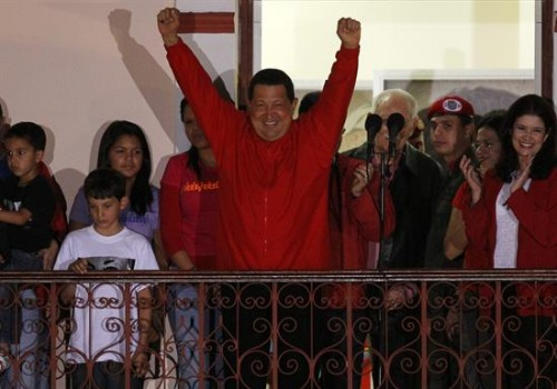 hugo chávez reeleito venezuela