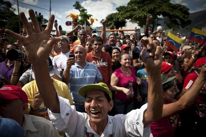 chavez reeleito venezuela eleitores eleição