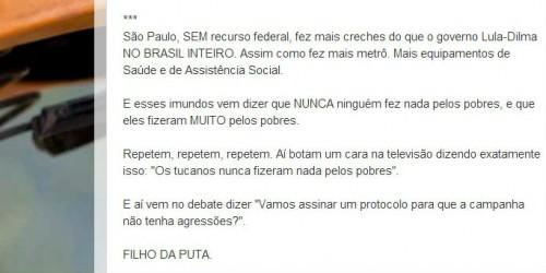 texto soninha haddad pt eleições