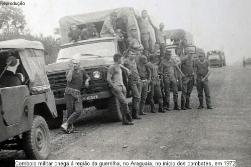Militares se exaltaram durante exibição de documentário sobre Guerrilha do Araguaia. (Foto: Guerrilha do Araguaia / Reprodução)
