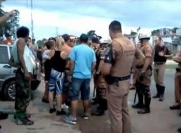 pm tortura curitiba bairro alto