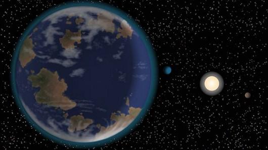 superterra astronomia espaço vida HD 40307