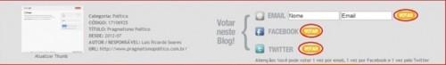 top blog 2012 votar