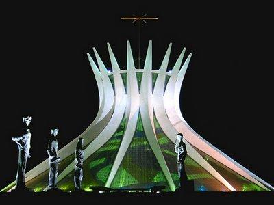 catedral brasília oscar niemeyer