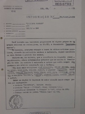 documento ditadura militar
