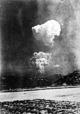 bomba atômica hiroshima foto rara