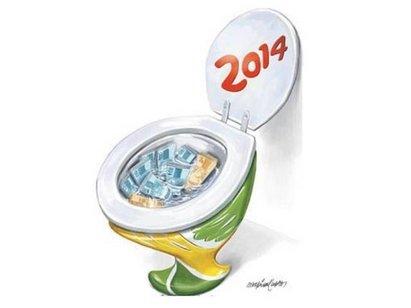 copa 2014 Brasil dinheiro público