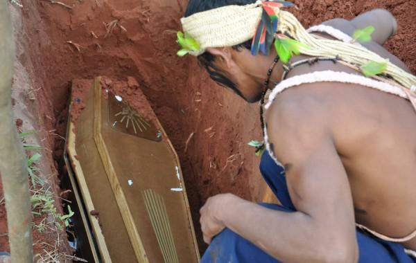 guarani kaiowá índio assassinado
