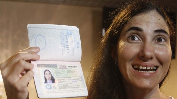 blogueira yoani sánchez argentina