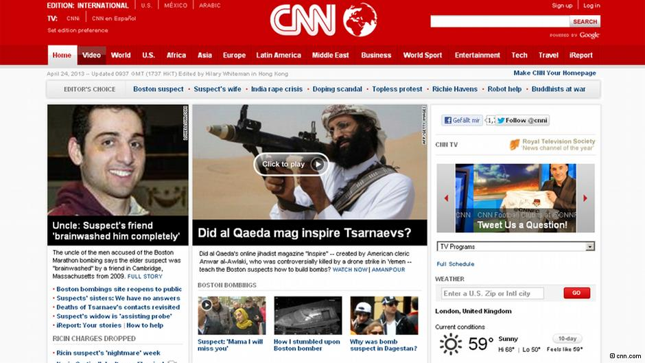atentado boston cobertura mídia