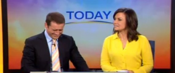 apresentadores today show australia