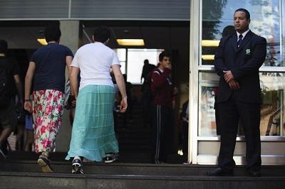 estudantes saia colégio bandeirantes