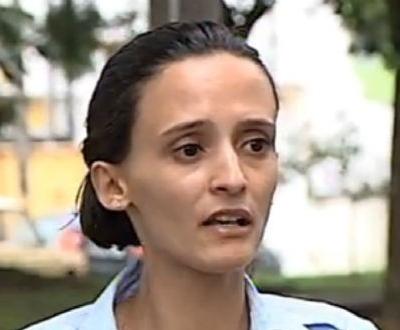 gabriela manifestante