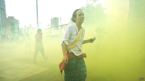 indústria gás lacrimogêneo