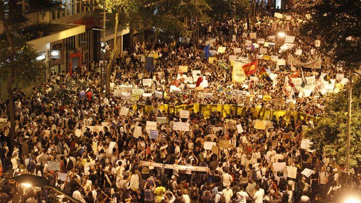 protestos cidades brasileiras quinta 20