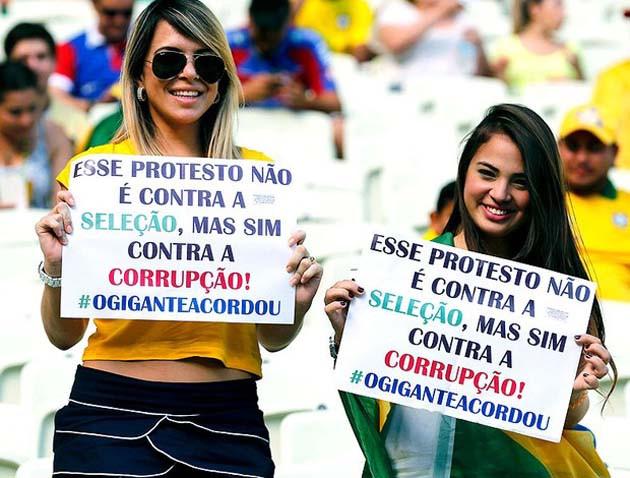 protesto brasil classe média