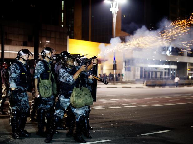 violência PM São Paulo
