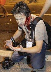 fotógrafo agredido PM rio janeiro
