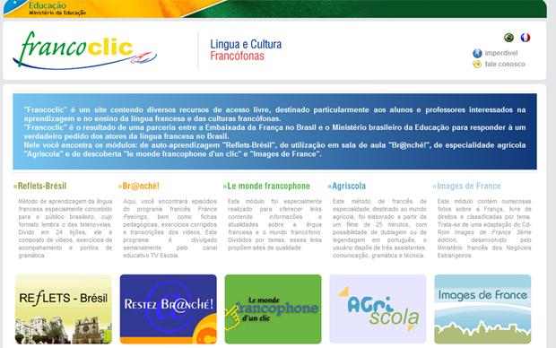 francoclic francês gratuitamente brasil