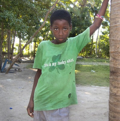 Pepe T-shirt. Haiti 2013