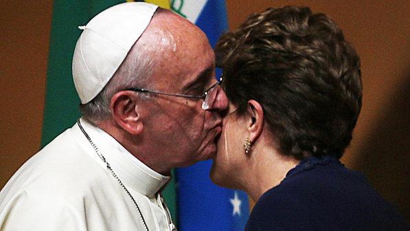 papa francisco dilma brasil