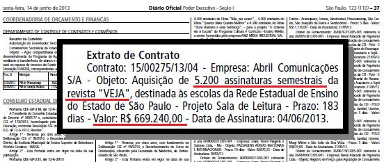 alckmin renova revista veja
