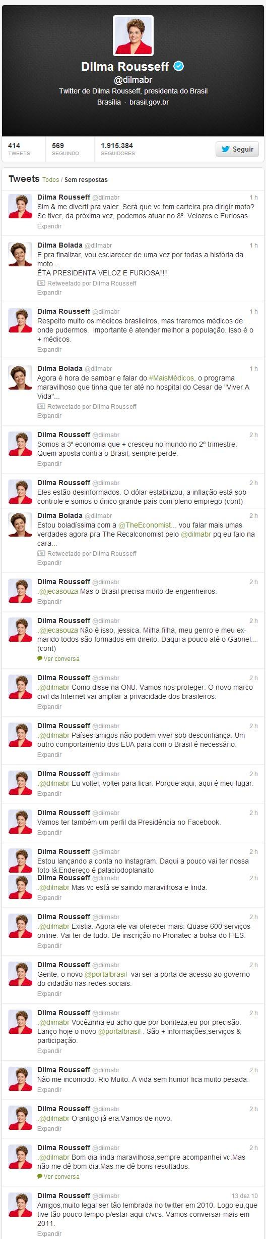 Dilma rousseff dilma bolada