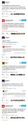 itaú santander bradesco twitter