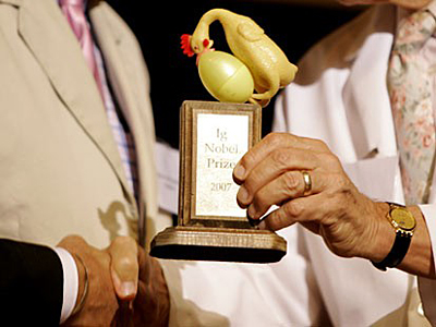 prêmio ignobel 2013