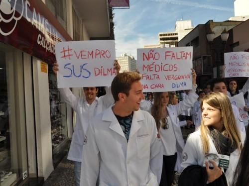 médicos contra dilma