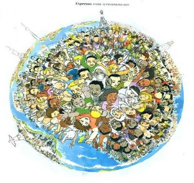 população mundial 2050