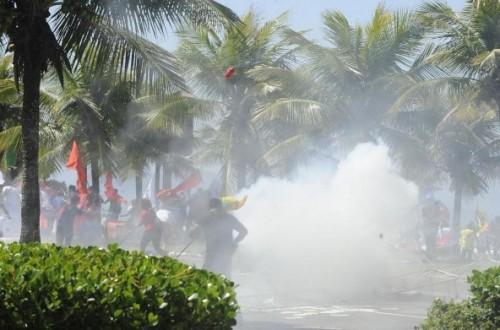 protesto leilão campo libra