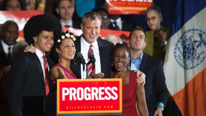bill de blasio prefeito nova york